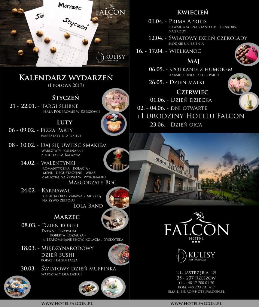 Ostatki w Hotelu Falcon
